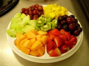 groente fruit dieet schema