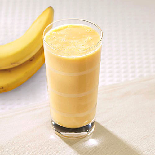 Smoothie banaan maken