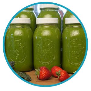 Een groene smoothie dieet