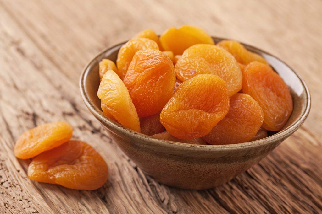 gedroogde abrikozen gezond