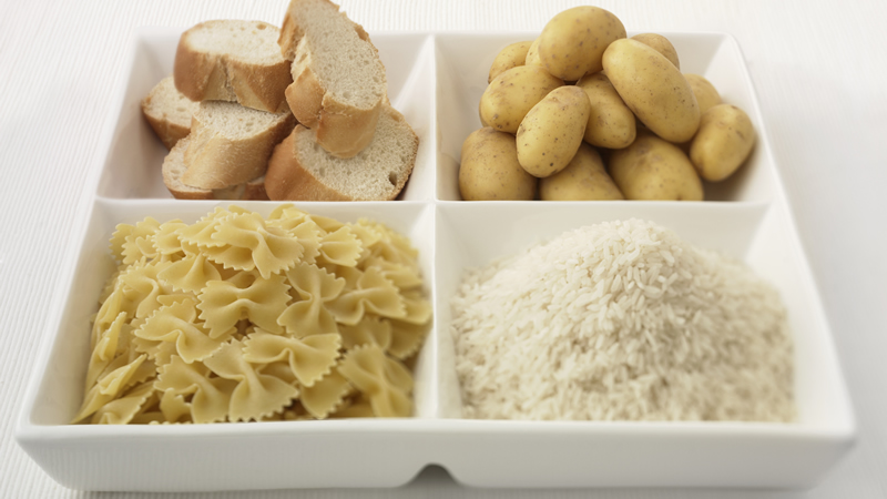 koolhydraten brood pasta rijst aardappelen